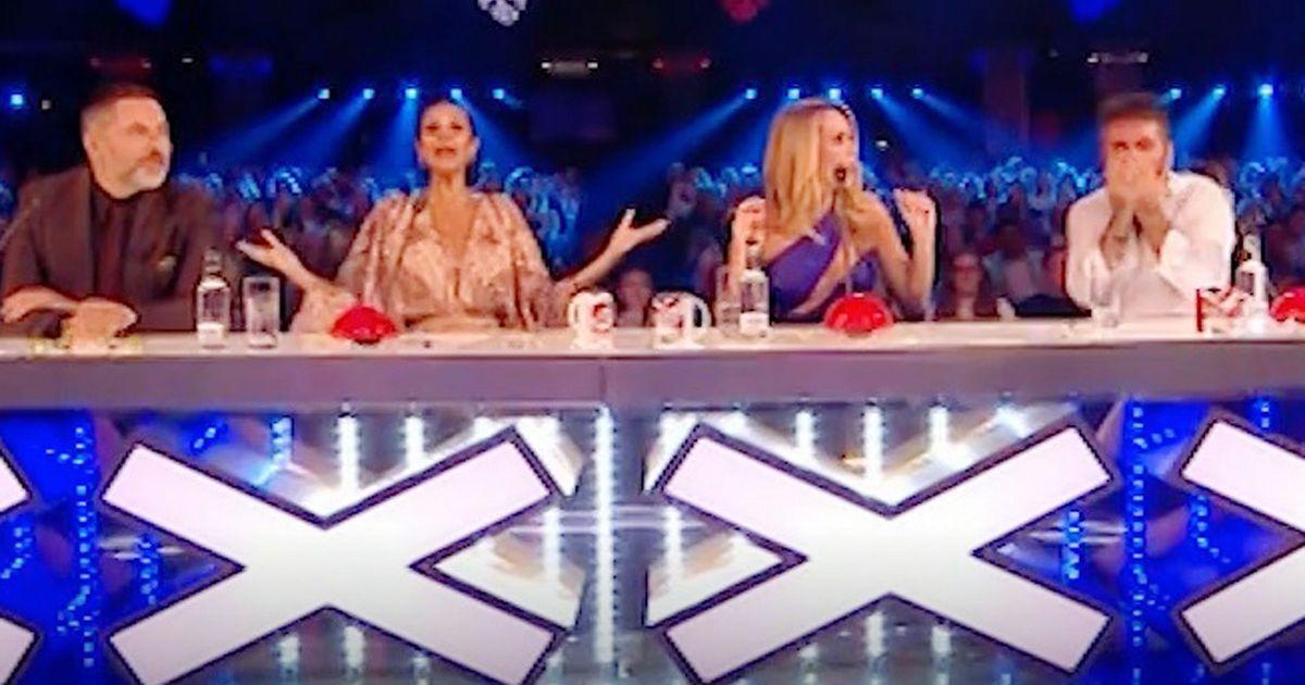 Simon Cowell brands David Walliams a 'w*****' in Britain's Got Talent outburst