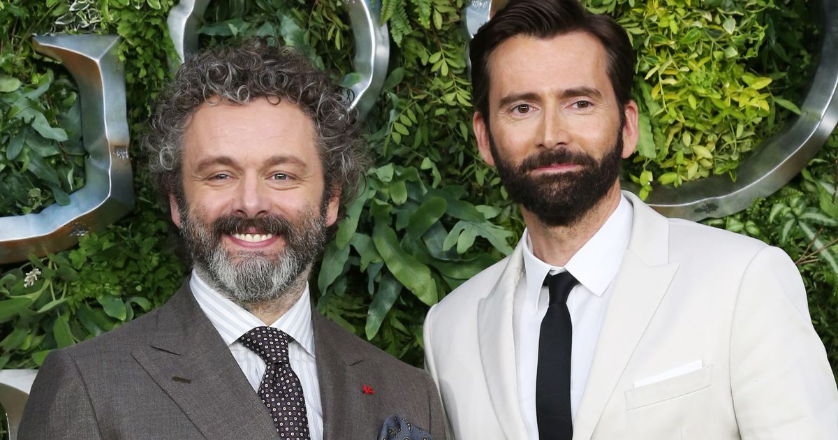 David Tennant and Michael Sheen 'only stars' who could bring Good Omens to life