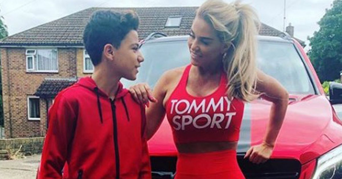 Katie Price accused of photoshopping tiny waist as fans notice huge blunder