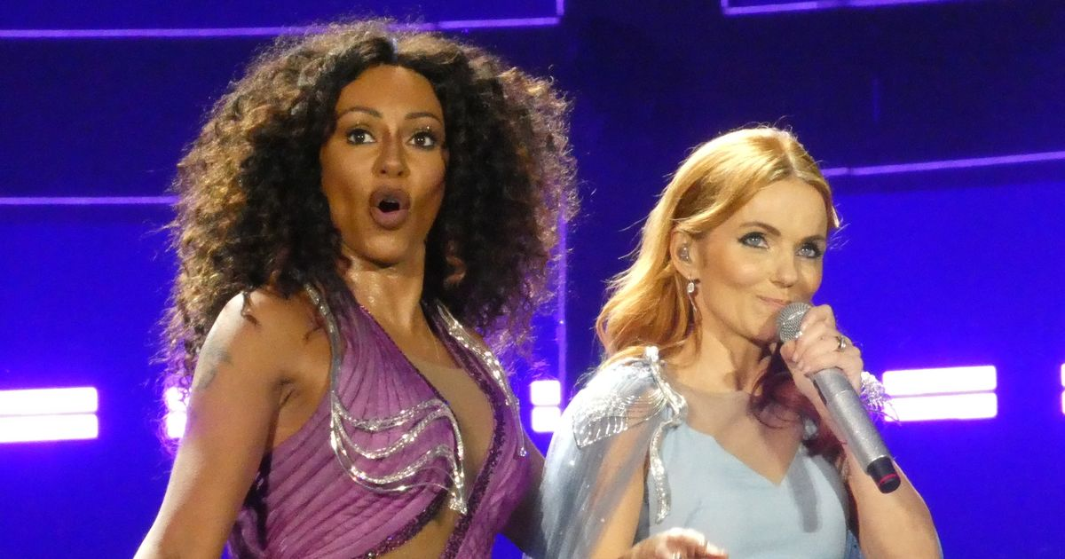 Mel B takes mean swipe at Geri Horner exactly 21 years after she quit the band