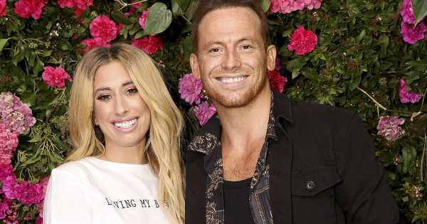 Stacey Solomon and Joe Swash welcome first child as she gives birth 'early'