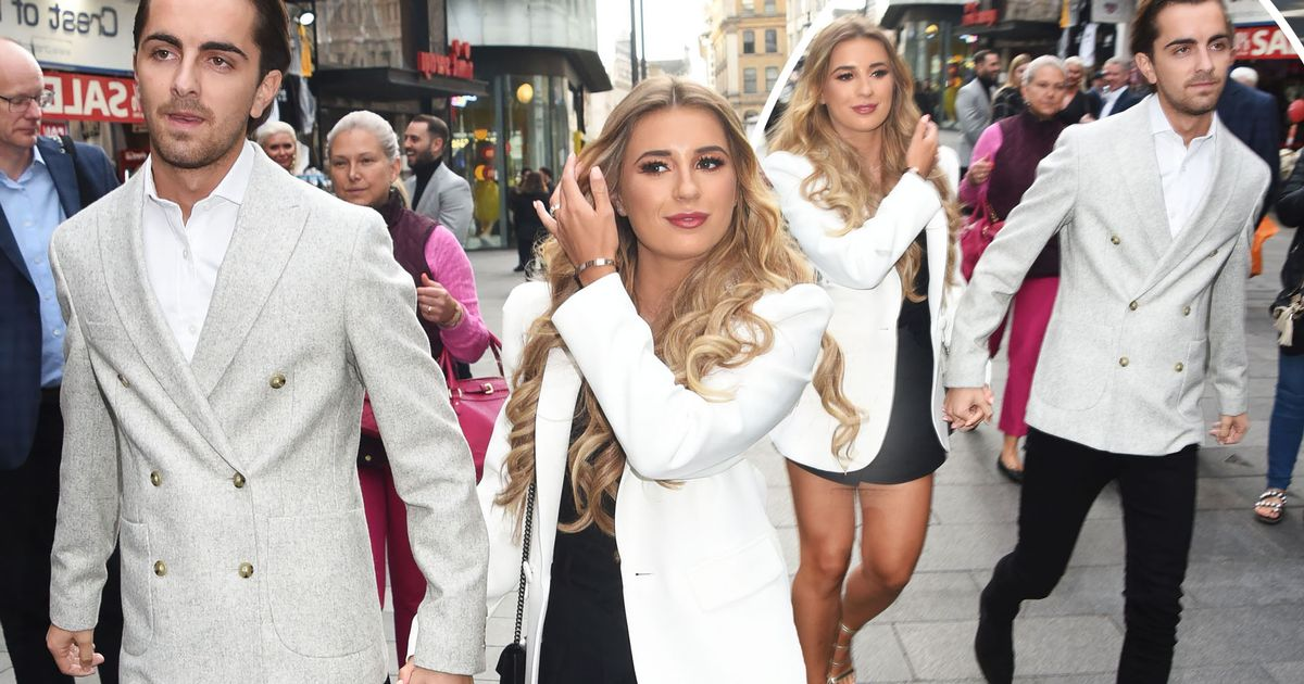 Dani Dyer and Sammy Kimmence make first public appearance together