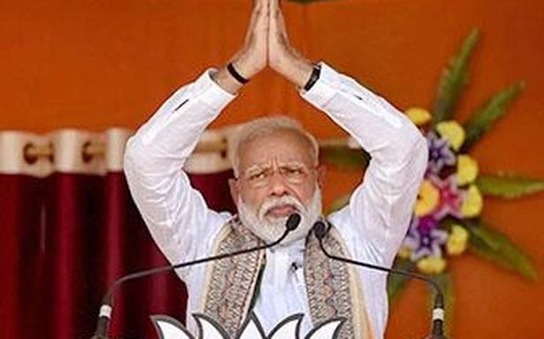 Modi recalls Nehru's contribution in nation building