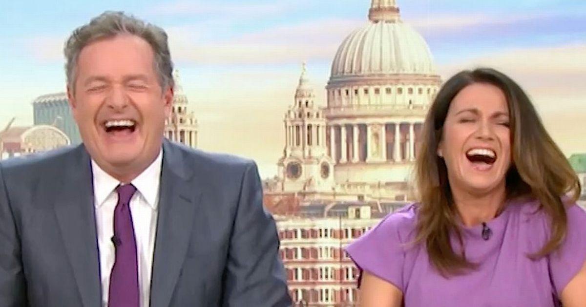 Piers Morgan insists mortified Susanna Reid spent hours having sex last night