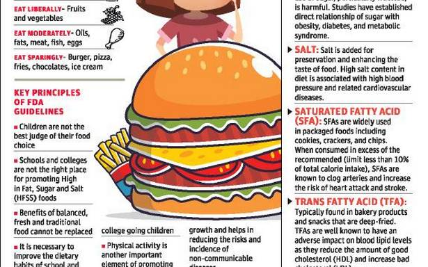 FDA asks schools, colleges to revive canteen food for better nutrition