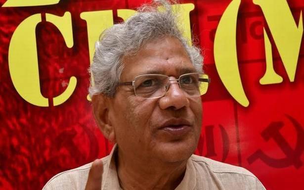 Building up of 'Modi persona' is reason for CPI(M)'s drubbing, says Sitaram Yechury