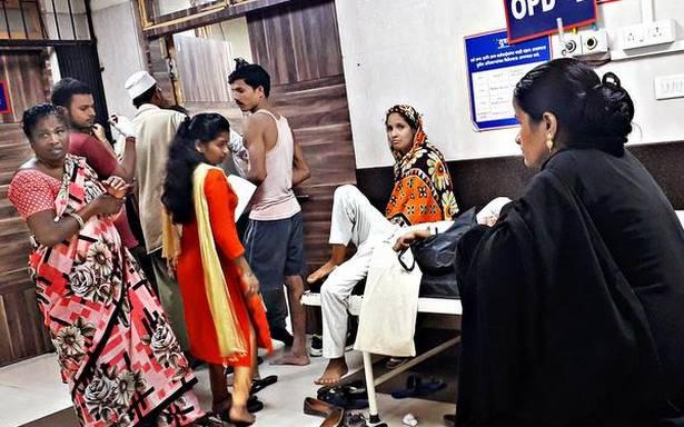 City's resident doctors drown under workload
