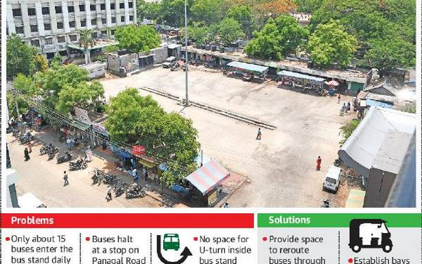 Anna Bus Stand lives in sheer neglect