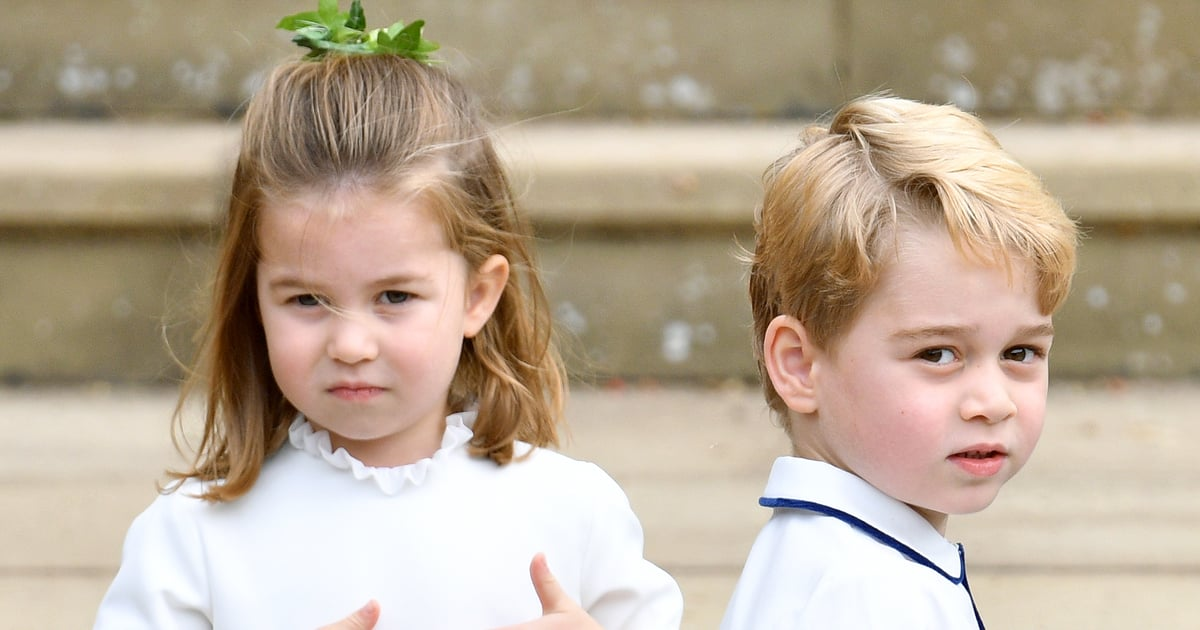 Princess Charlotte Will Attend School With Prince George, and We Bet She's Going to Run the Place