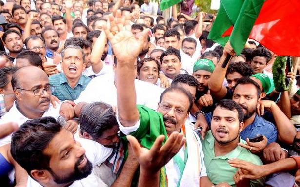 Stunning win for Sudhakaran