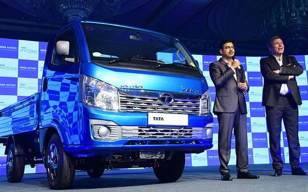 Tata unveils compact truck Intra