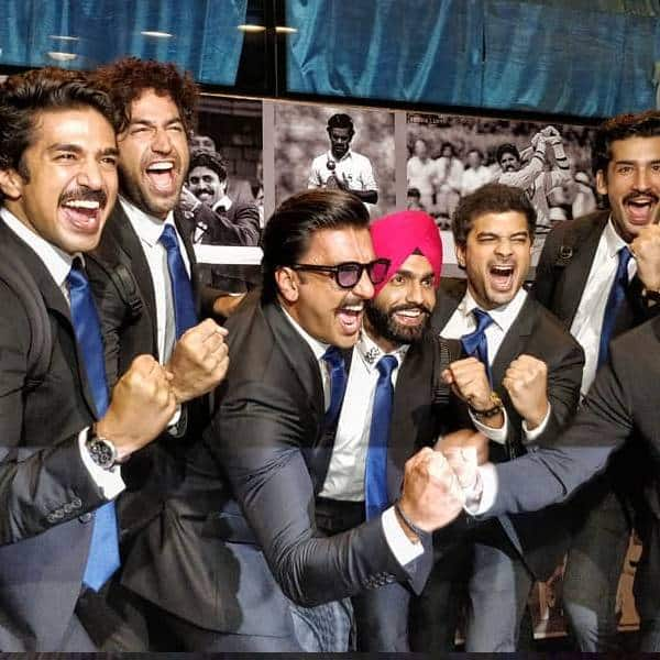 Ranveer Singh and team suit up as they head to London for the first schedule of '83 – view pics | Bollywood Life