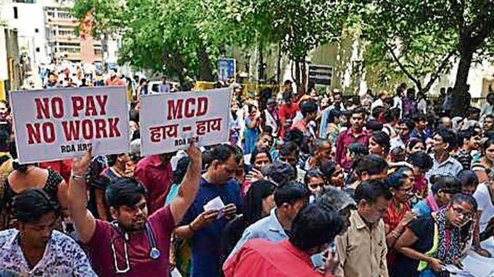 Funds released but docs won't end stir till salary is credited