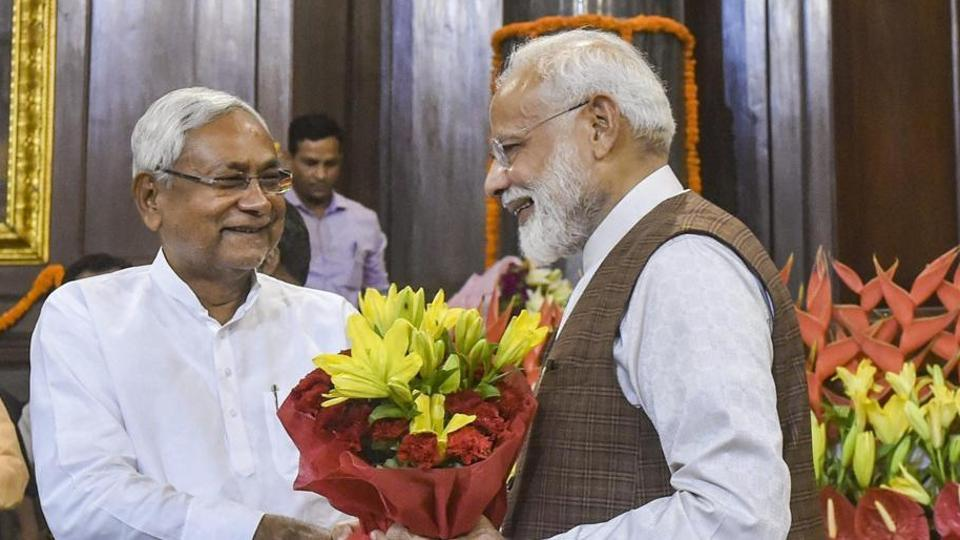 Nitish Kumar's party says won't be part of PM Modi's cabinet for now