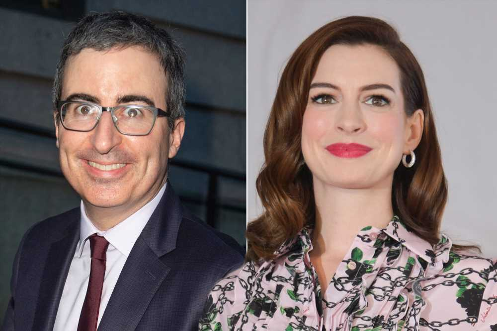 John Oliver jokes America needs to hate Anne Hathaway again