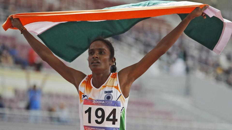 Asian Championships winner Gomathi Marimuthu in dope net