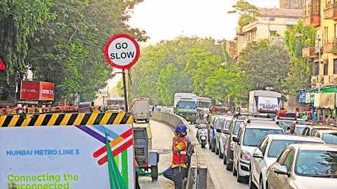 Mumbai's Metro-3 runs behind schedule