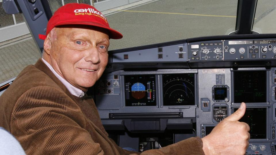A story of fire and ice: Niki Lauda, Formula One legend