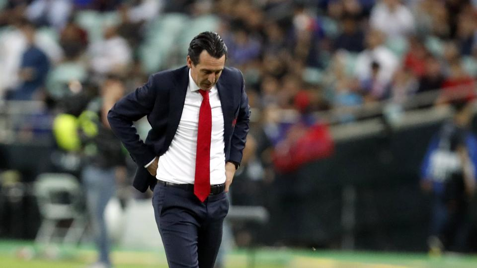 Europa League Final: Emery hints at potential departures to continue to rebuild at Arsenal