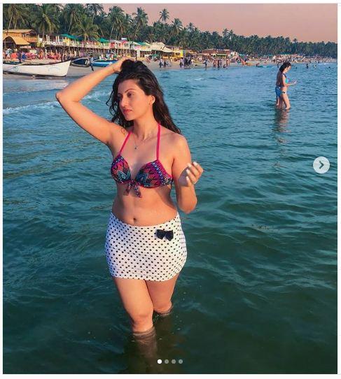 Hamsa Nandini hot beach avatar