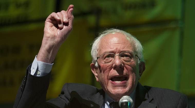 Bernie Sanders, no longer the front-runner, brings campaign home to Vermont