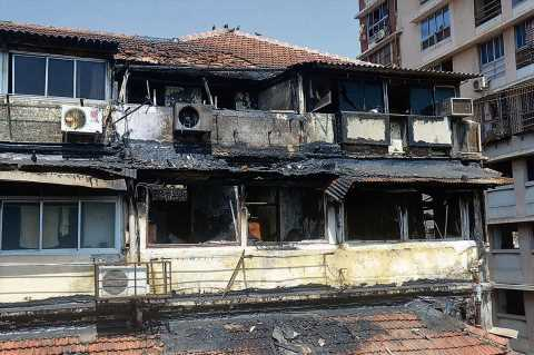 Two senior citizens killed in fire at South Mumbai building