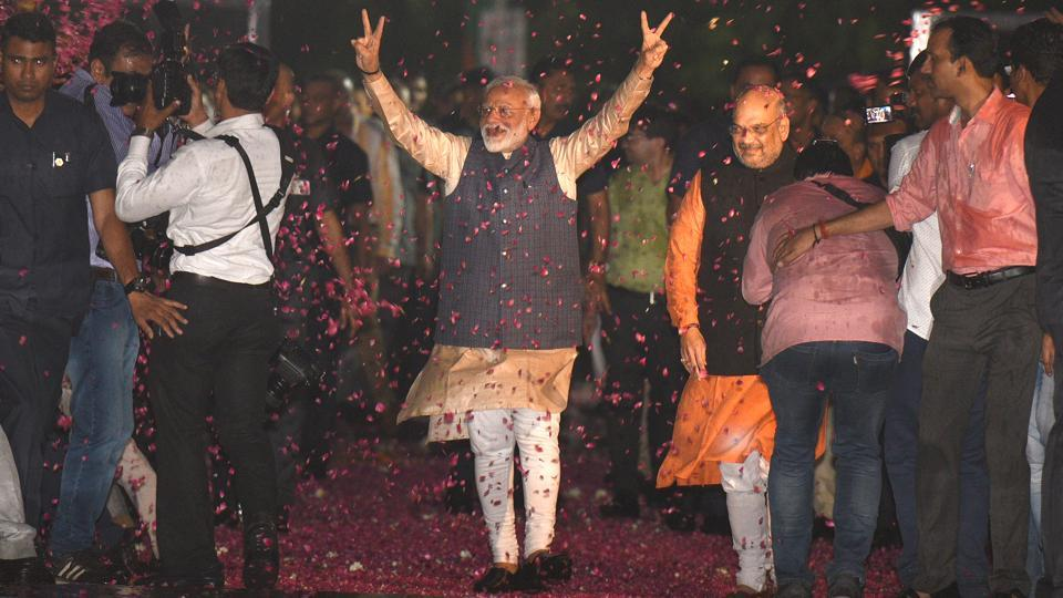 Factors that contributed to Modi's remarkable electoral victory in 2019