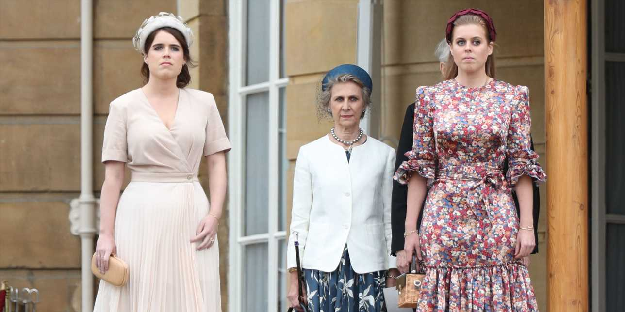 Princess Eugenie and Princess Beatrice Hit Up the Queen's Garden Party in Style