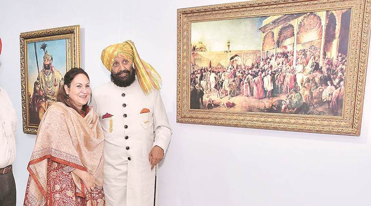 A brush with history: Unique exhibition on Sikhs by Western artists in Chandigarh