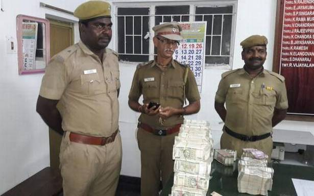 Bikers drop bag containing over ₹1.5 crore in Chennai