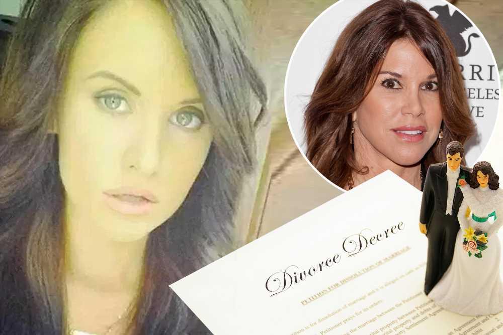 Ex-'RHOC' star Lynne Curtin's daughter Alexa files for divorce