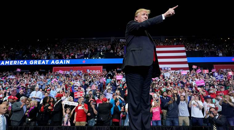 In Pennsylvania, Trump touts 2020 chances, swipes at Biden