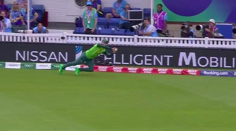 Watch: Faf du Plessis takes a stunner to dismiss Moeen Ali