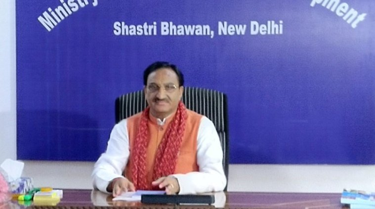 Meet the new HRD minister Ramesh Pokhriyal Nishank