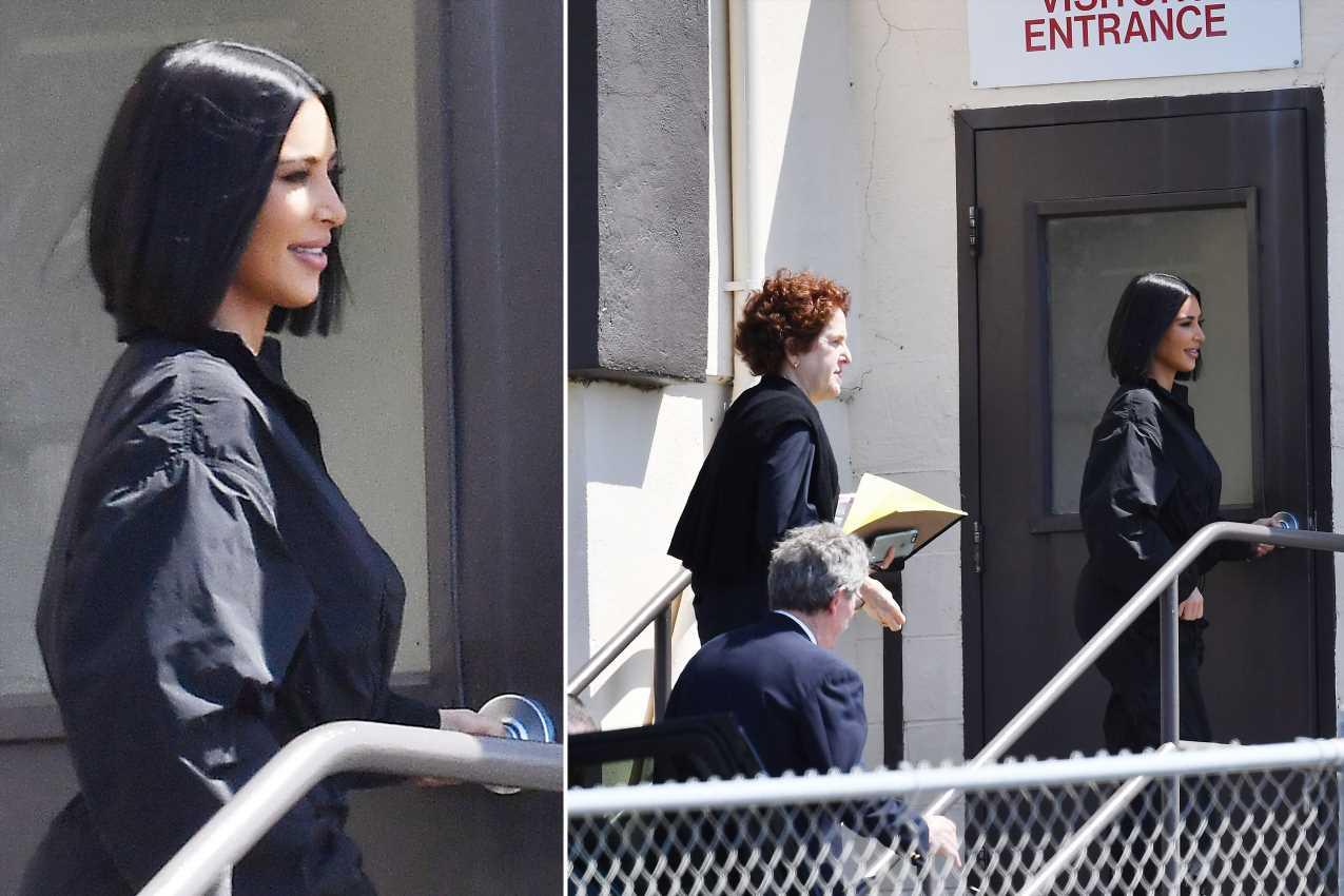 Kim Kardashian visits inmate on death row at San Quentin State Prison