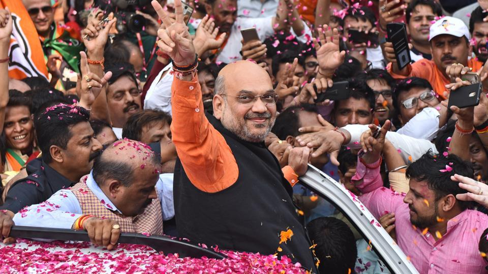 BJP's Amit Shah of strategy now emerges as leader of masses