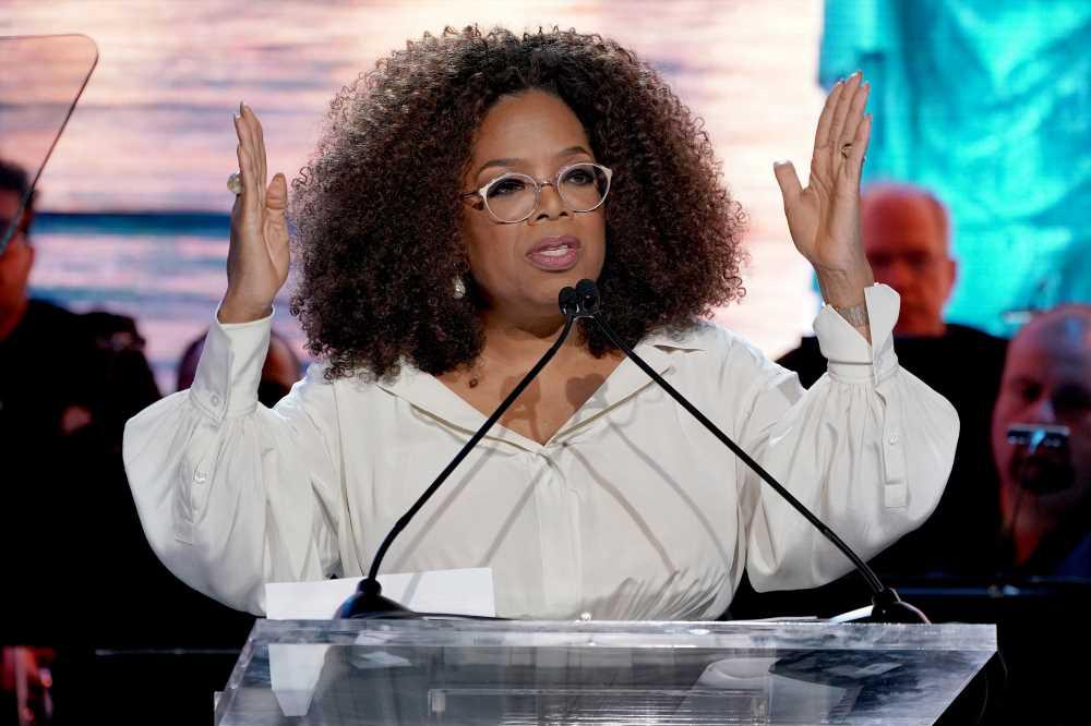 Oprah Winfrey speaks at college graduation in Colorado