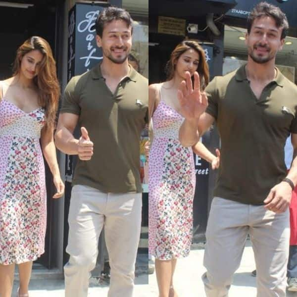 Oh, nothing much! Just sunny and smiley pictures of Tiger Shroff and Disha Patani after their Sunday brunch | Bollywood Life