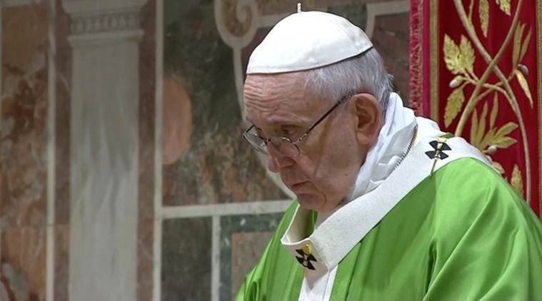 Pope says abortion, even of a sick fetus, is like hiring a 'Hitman'