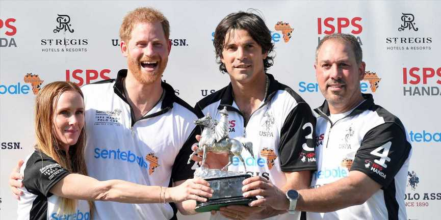 """Prince Harry """"Was Ready"""" For Fatherhood According to His Close Friend Nacho Figueras"""