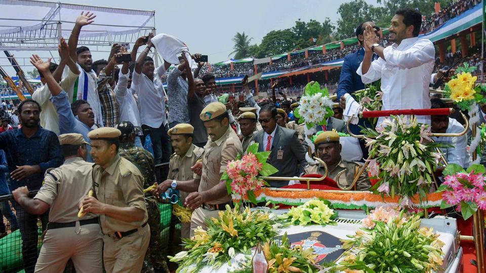 Jagan Reddy takes oath as Andhra Pradesh CM, enhances old-age pensions