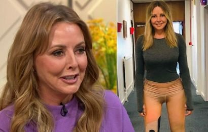 Carol Vorderman: Countdown host reflects on 'daft' move as skintight pants spark frenzy