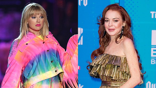 Lindsay Lohan Begs For Taylor Swift's Attention During Live Stream & Fans Are Freaking Out