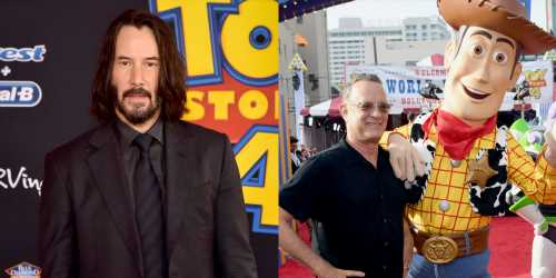 Keanu Reeves Joins His 'Toy Story 4′ Co-Stars at L.A. Premiere!