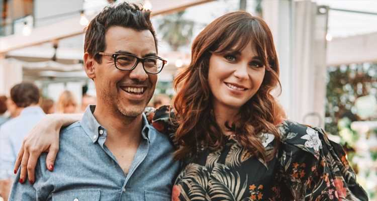 Zooey Deschanel & Husband Jacob Pechenik Talk 'The Farm Project' During Creative Couples Panel