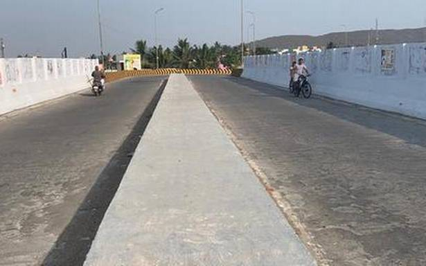 Continuous median, speed breakers sought