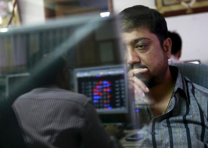 Sensex slumps 194 points; Yes Bank sinks over 3%