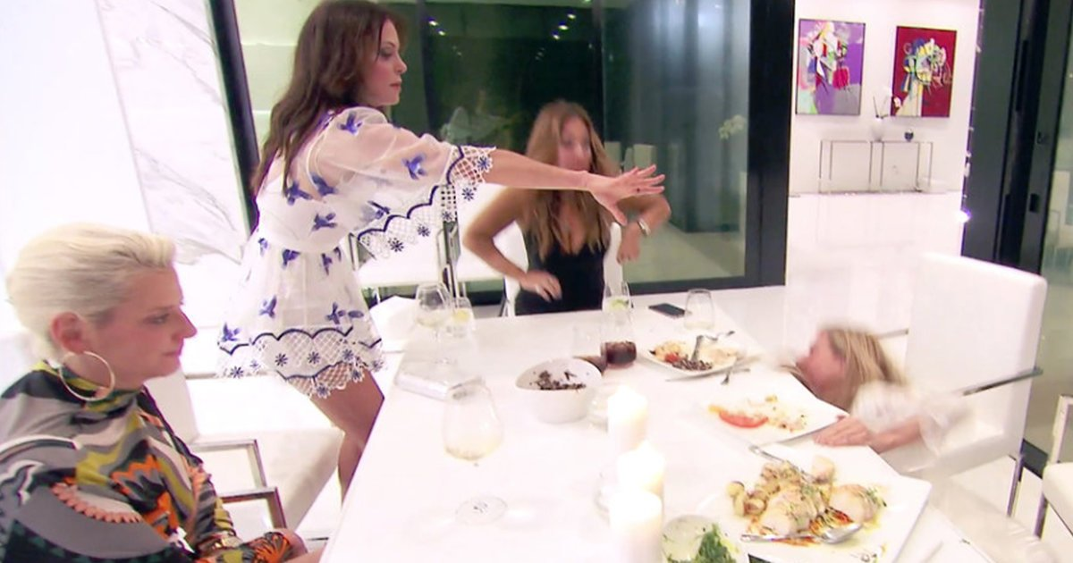 'RHONY' Recap: Bethenny Calls Paramedics After Sonja Drunkenly Faceplants at Dinner, Luann Thinks She Needs AA