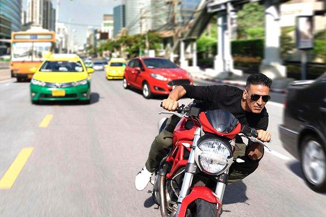 Pix: Akshay's daredevil stunts for Sooryavanshi!