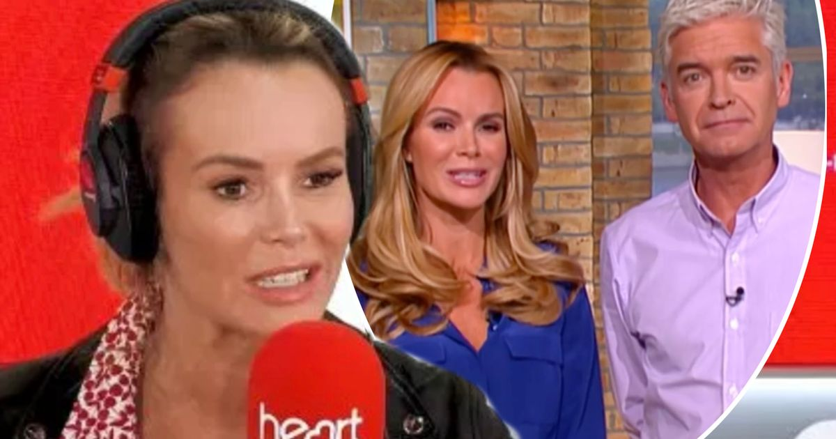 Amanda Holden reignites FEUD rumours with Phillip Schofield as she slams him live on the radio